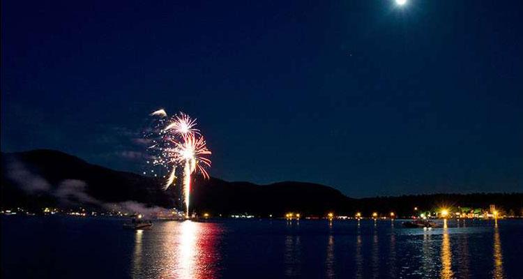 a fireworks cruise