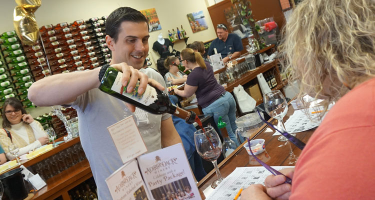 adirondack winery tasting photo