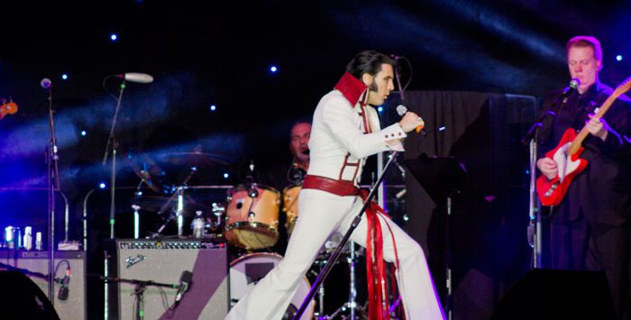elvis tribute artist
