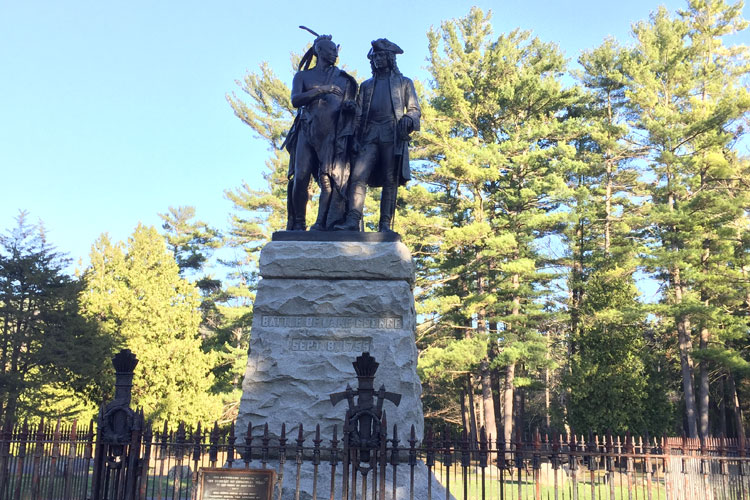 battlefield park statue