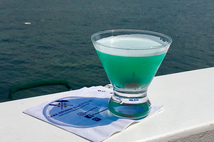 lake george beach club martini