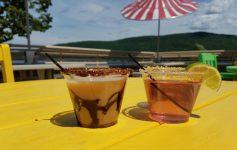 rooftop cabana bar martini