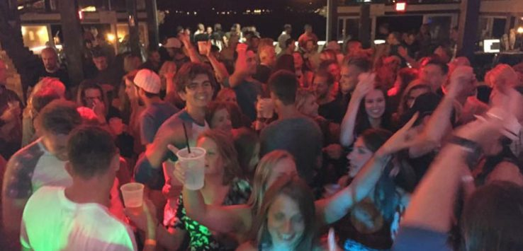 party at the lake george beach club