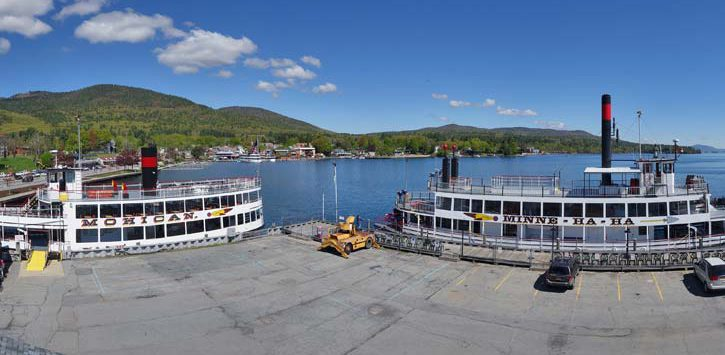 lake george steamboat dock