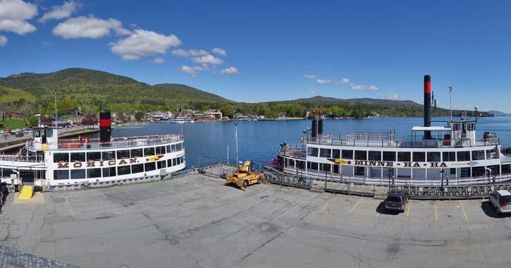 lake george steamboat dock