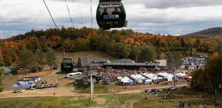 fall foliage gore mountain gondola