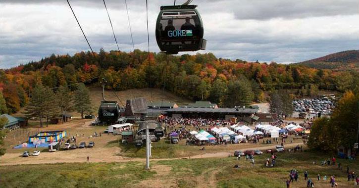 fall foliage gore mountain gondola