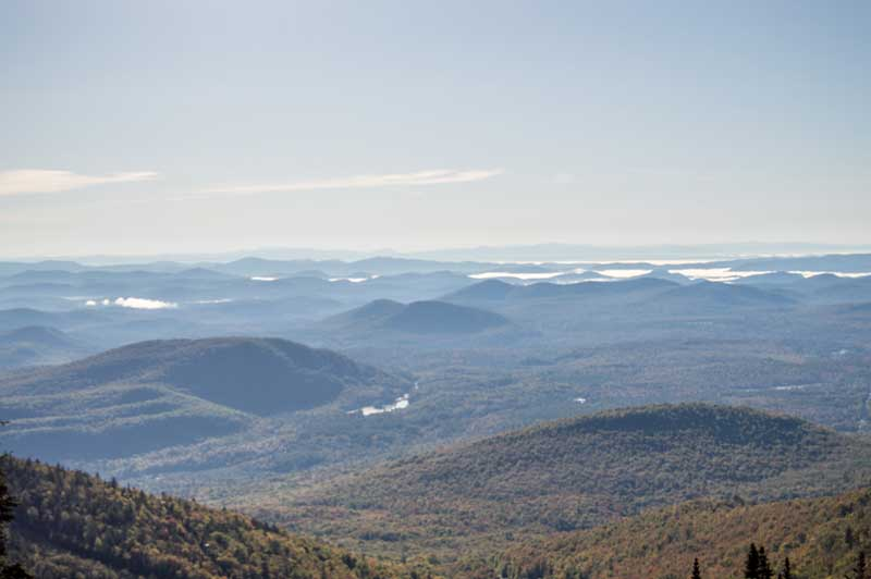 View of the Adirondacks from Gore Mountain