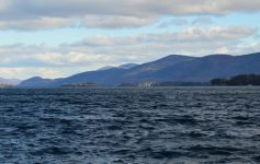 wide view of lake george