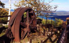 old gear at top of prospect mountain