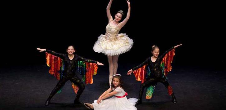 dancers in the nutcracker performance