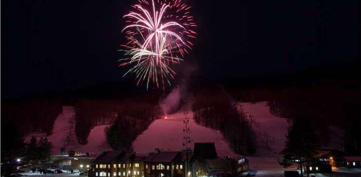 big fireworks show