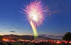 fireworks field