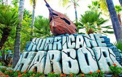 hurricane harbor sign