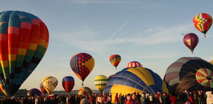 a balloon festival