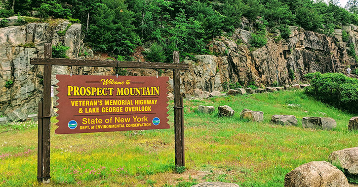 sign at prospect mountain highway