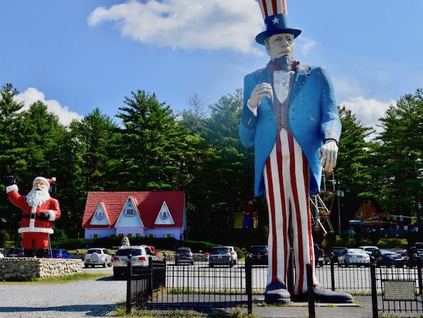 Uncle Sam statue