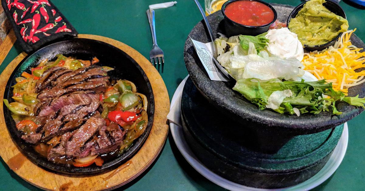 steak meal atrestaurant