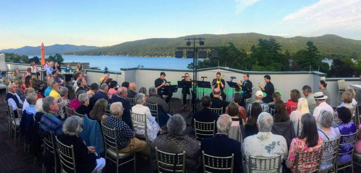 concert by the lake