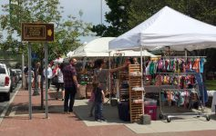 craft fair on the street