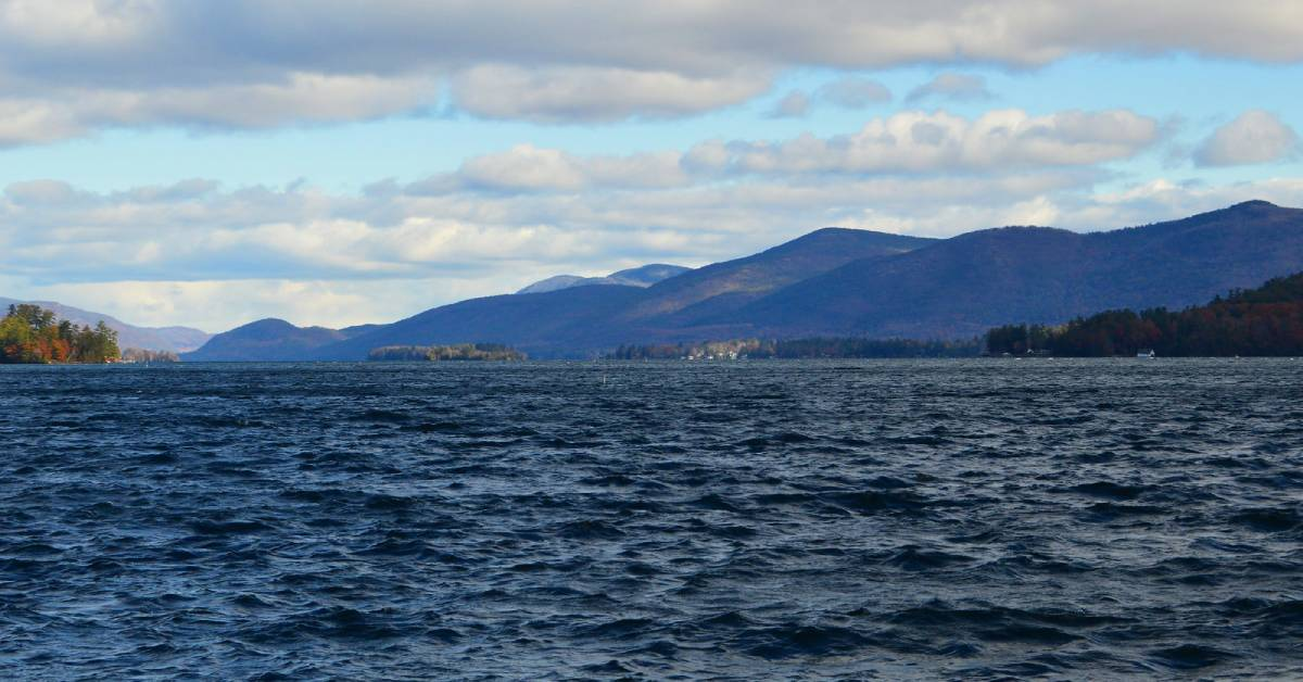 lake george in november