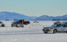 cars on ice