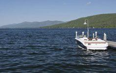 boat at a dock
