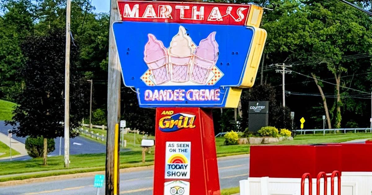 Martha's sign