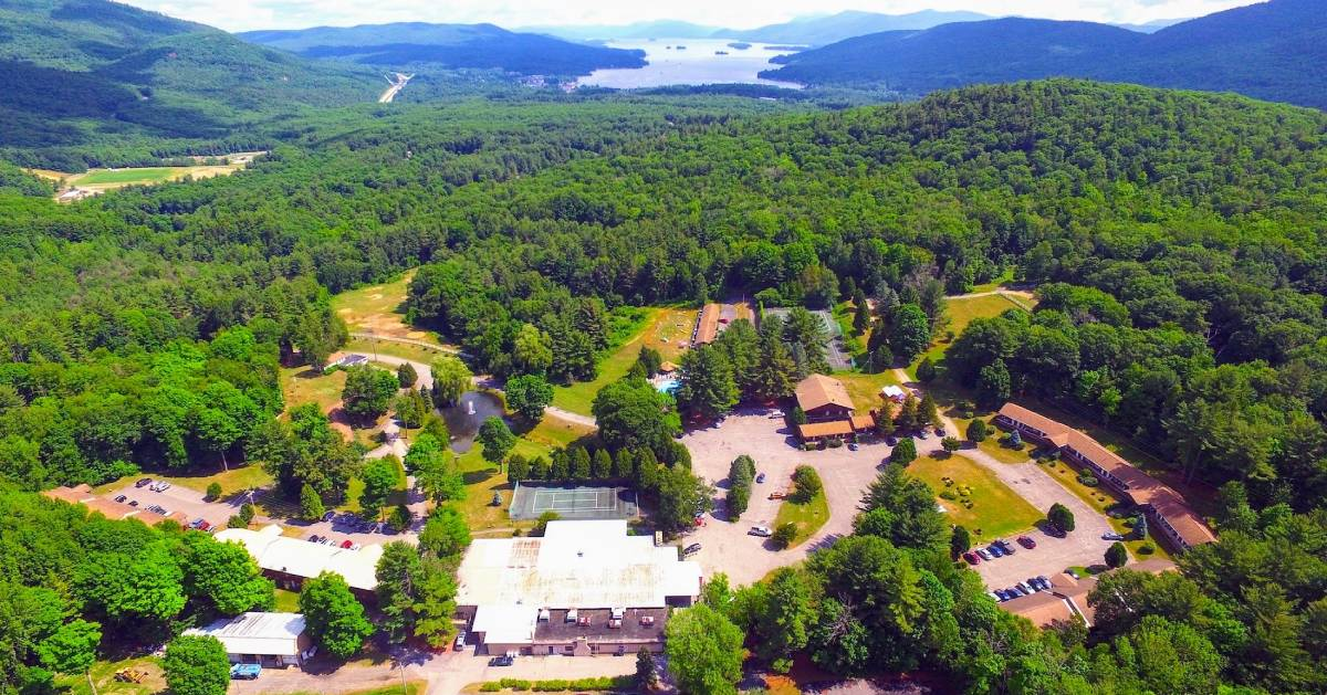 aerial view of Ranch