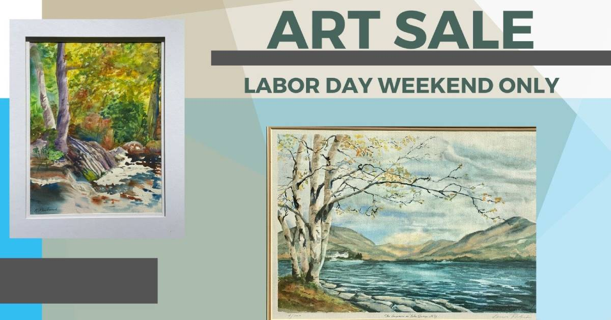 Labor Day Weekend Art Show poster
