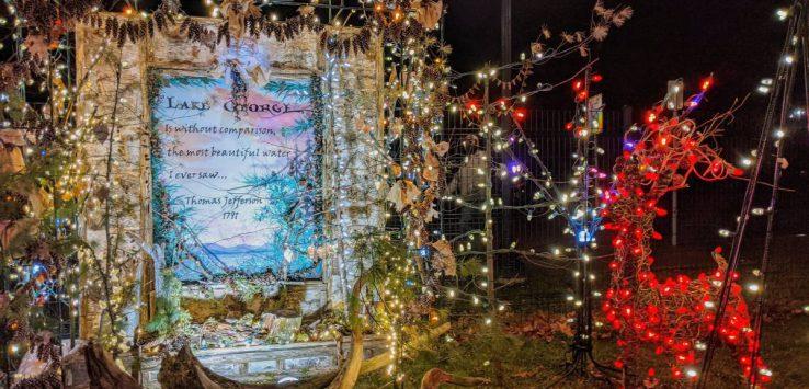 Festival of Lights display