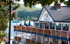 outside of the Lake George Beach Club