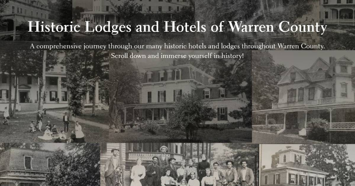history and hotels poster