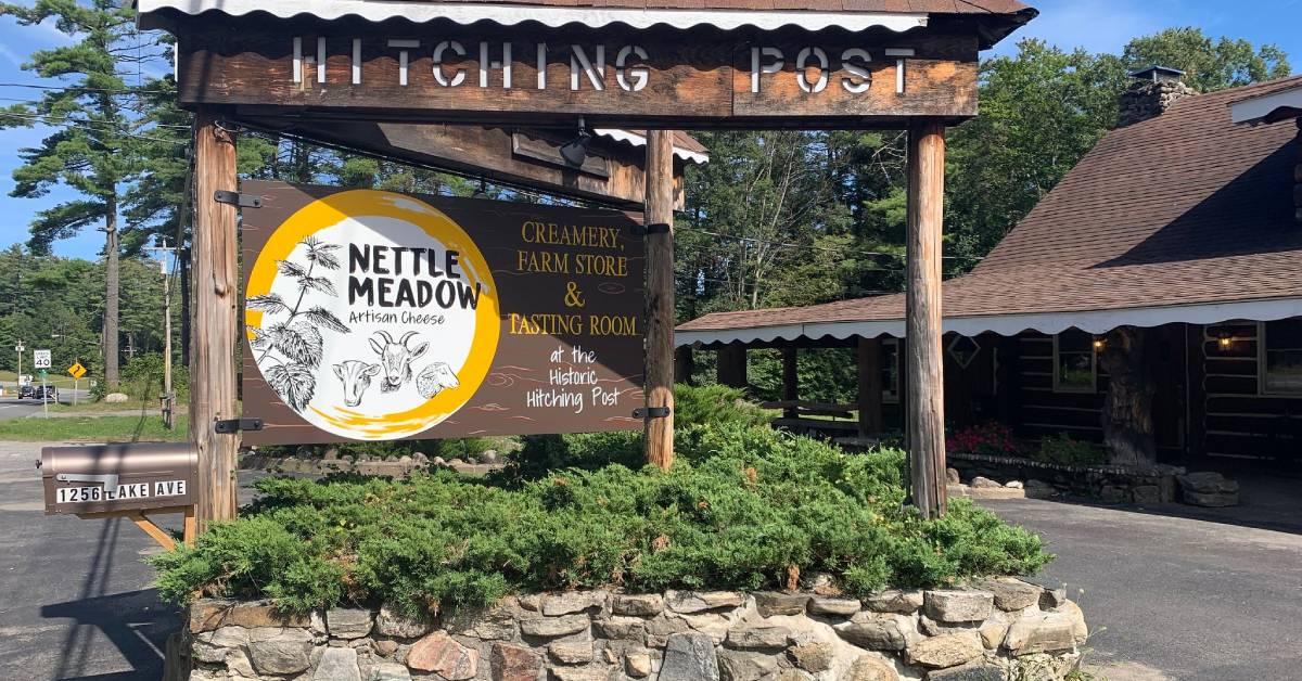 nettle meadow sign