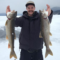 Lake Trout Caught in Lake George
